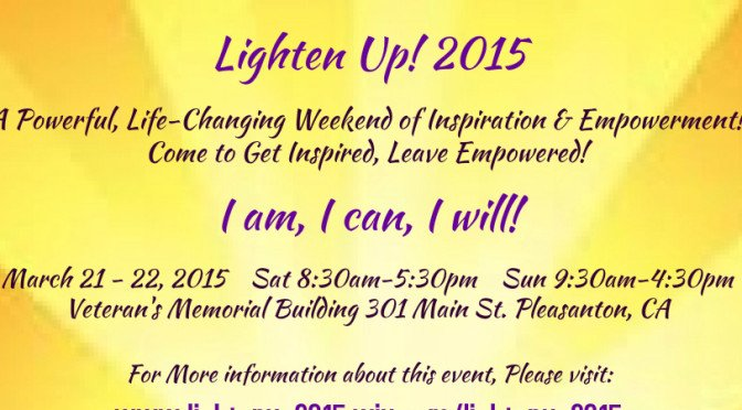 Lighten Up! 2015 Retreat Brochure
